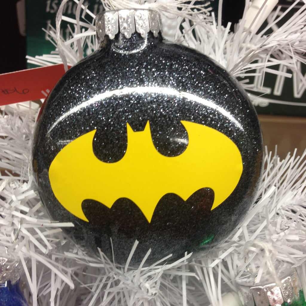 Holiday Christmas Tree Ornament Marvel Comic Superhero Batman