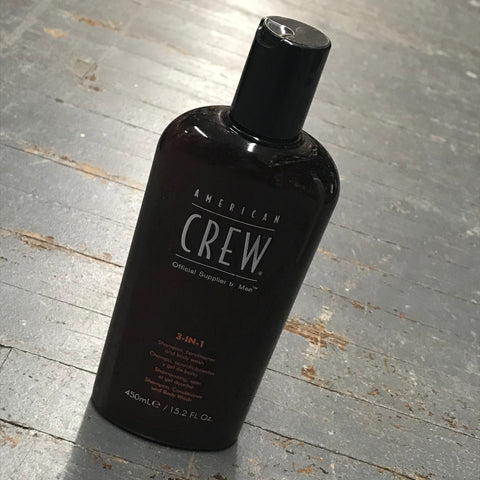 American Crew Men's 3-in-1 Shampoo Conditioner Body Wash 15.2oz