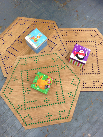 Pegs and Jokers Sorry Card Marbles Board Game 2-6 Players