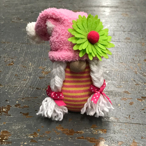 Gnome Holiday Easter Spring Flower Girl Braids Slouch Hat