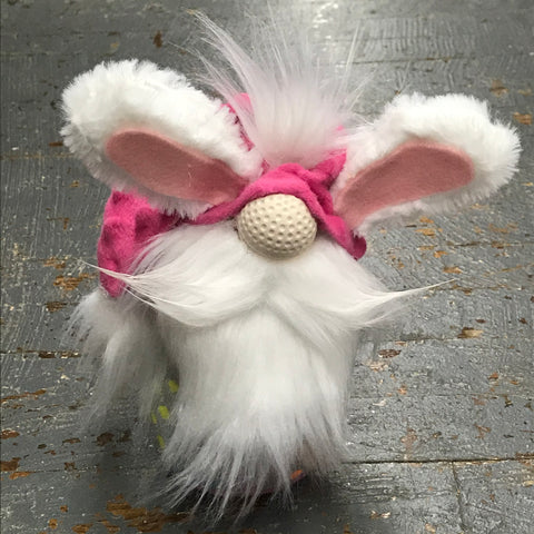 Gnome Holiday Easter Bunny Rabbit Ears Mustache Slouch Hat