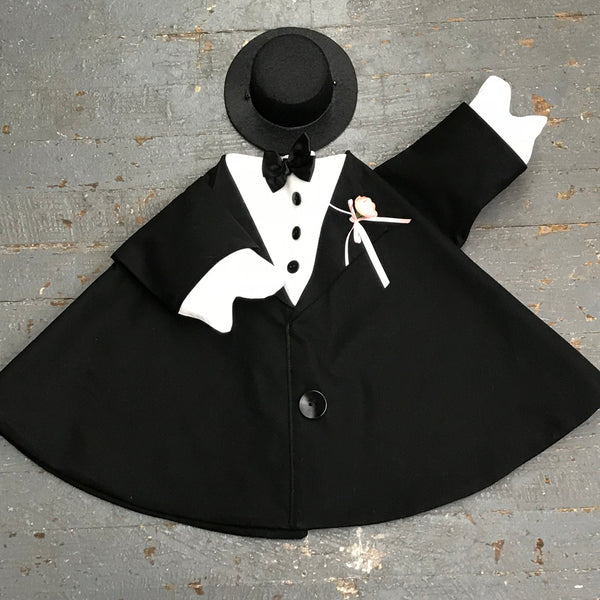Goose Clothes Complete Holiday Goose Outfit Wedding Groom Tuxedo Dress and Hat