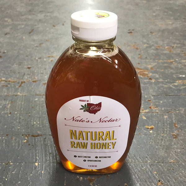 All Natural Raw Honey 2#