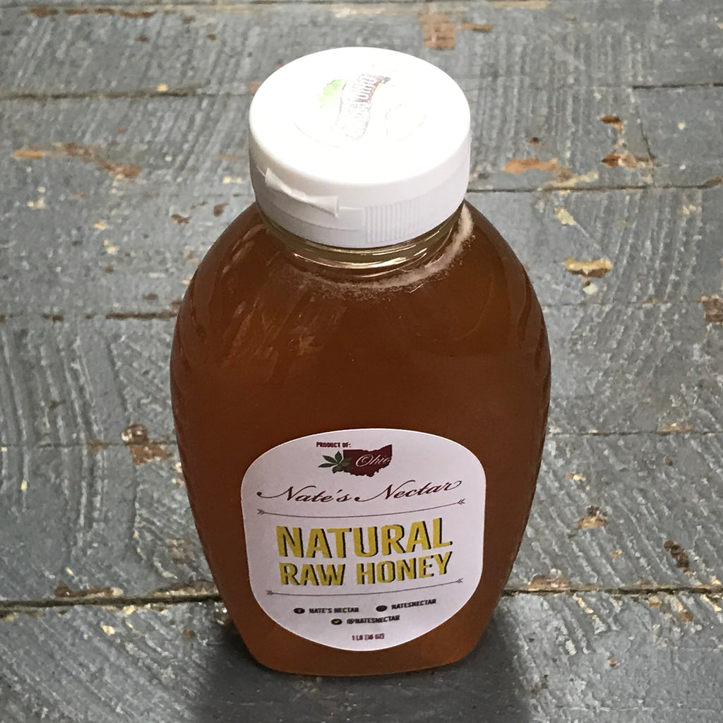 All Natural Raw Honey 1#
