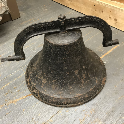 Antique Vintage Cast Steel CS Bell Hillsboro Ohio