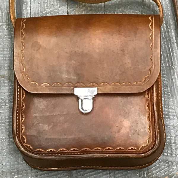 Handmade Leather Possibles Bag Crossbody Should Purse