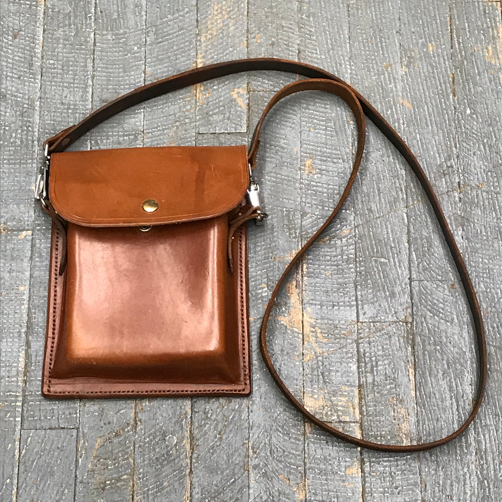 Handmade Leather Possibles Bag Crossbody Shoulder Purse Belt Pouch