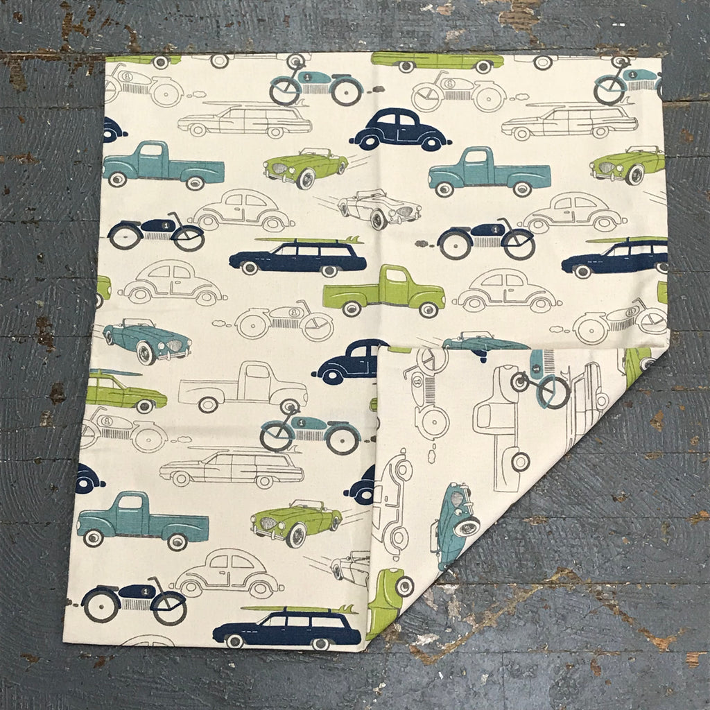 Pillow Cover Pillow Case Trucks Cars Design