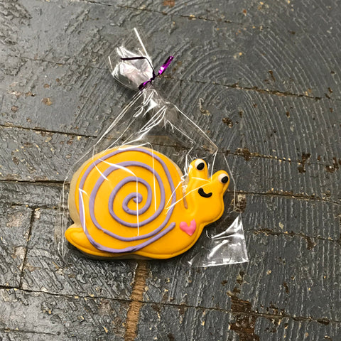 Laurie's Sweet Treats Woodland Animal Snail Yellow