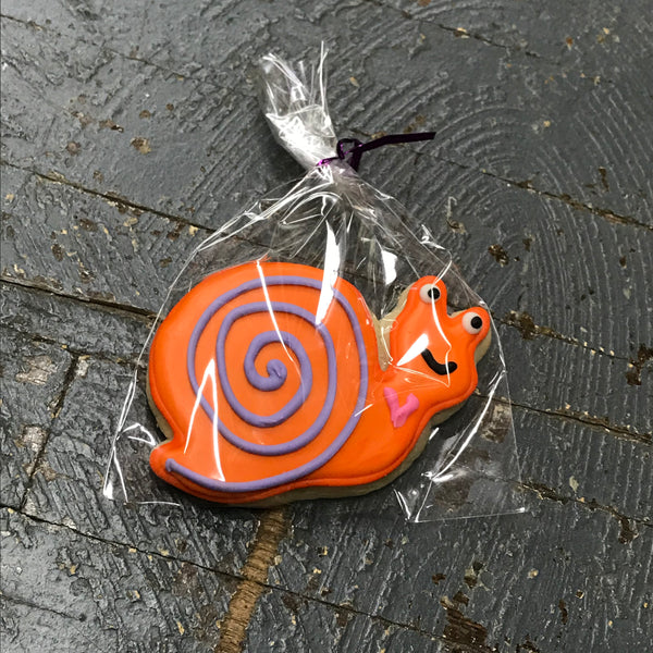 Laurie's Sweet Treats Woodland Animal Snail Orange