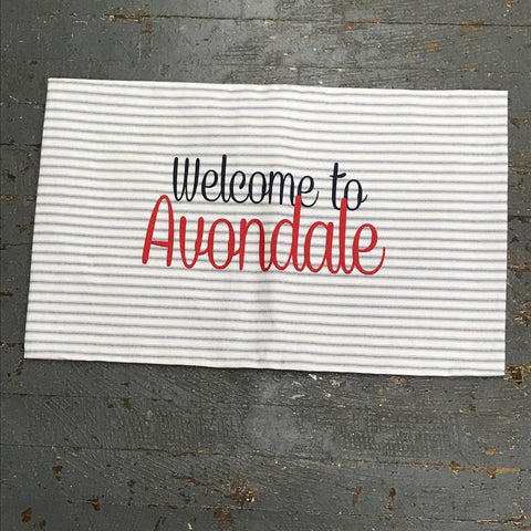 Pillow Cover Pillow Case Welcome to Avondale Design