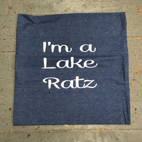 Pillow Cover Pillow Case Denim Lake Ratz Design