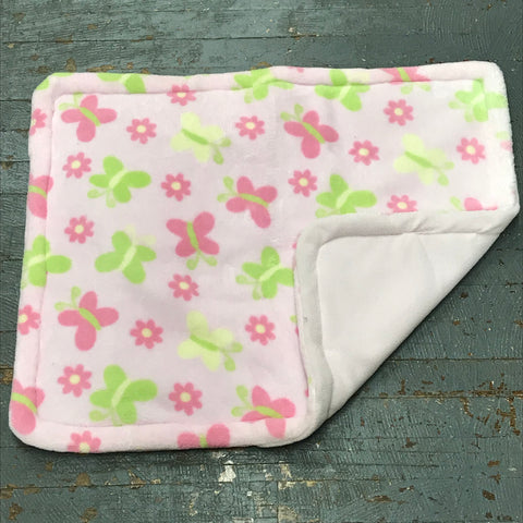 Butterfly Floral Pet Bed Blanket