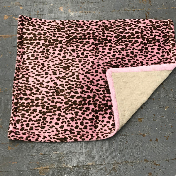 Pink Cheetah Pet Bed Blanket