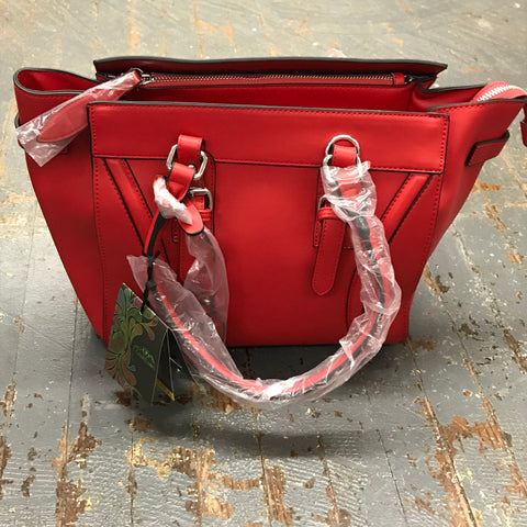 Concealed Carry Purse Tote Red Leather Aphaea Cameleon