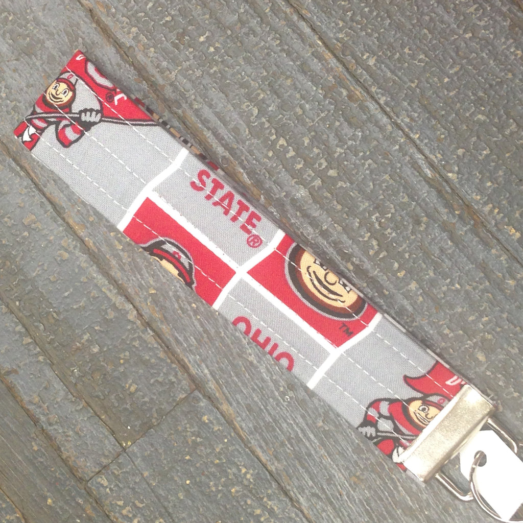 Ohio State Buckeyes Key Chain Fob