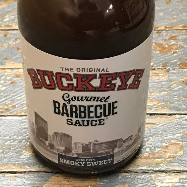 The Original Buckeye Gourmet Gem City Smoky Sweet Barbecue Sauce