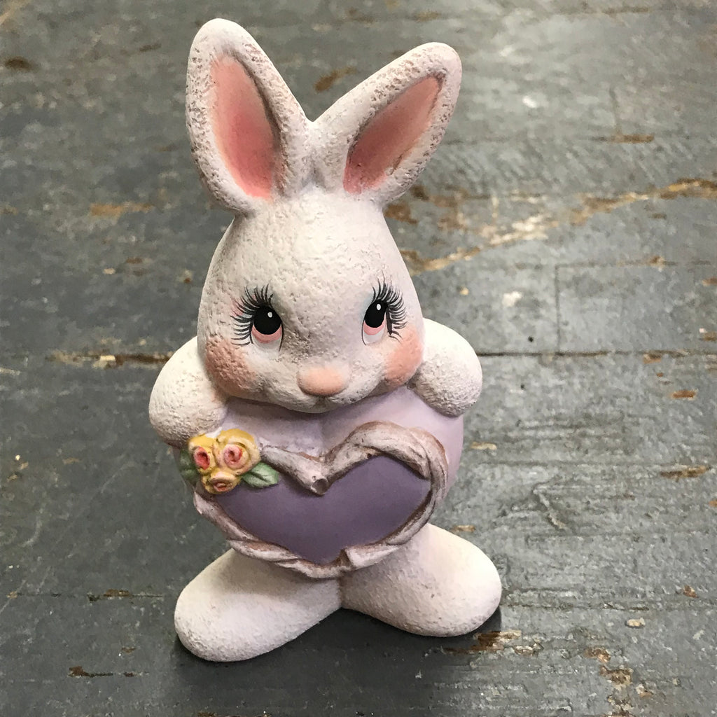 Ceramic Easter Bunny Rabbit Figurine Statue