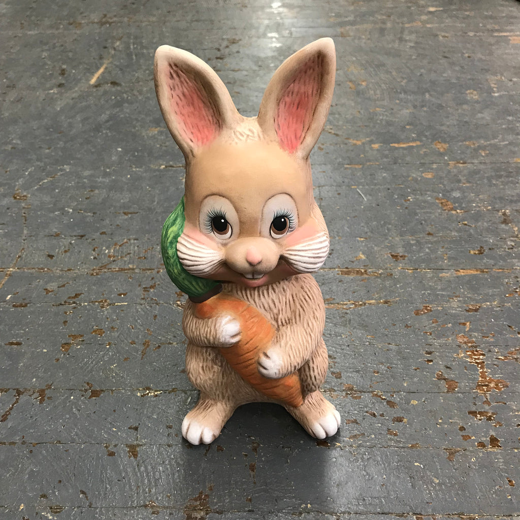 Ceramic Easter Bunny Rabbit Statue Figurine Money Bank Coin Collector