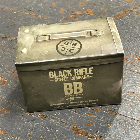 Black Rifle Beyond Black Dark Roast 12 Single Serve Rounds Coffee
