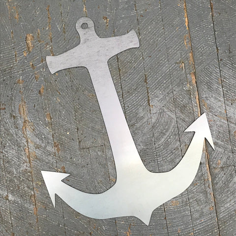Nautical Boat Anchor Metal Sign Wall Hanger