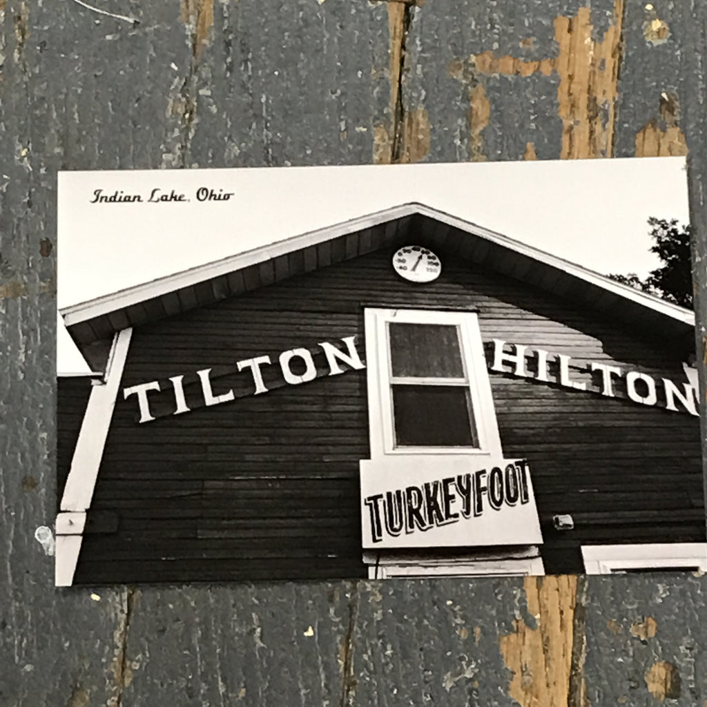 Indian Lake Post Card Tilton Hilton Turkeyfoot
