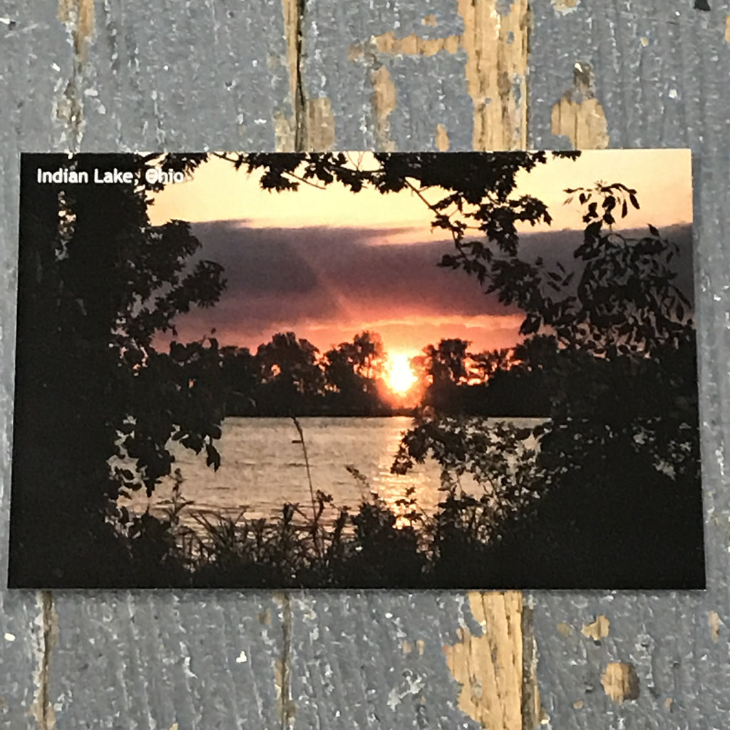 Indian Lake Post Card Indian Lake Sunset