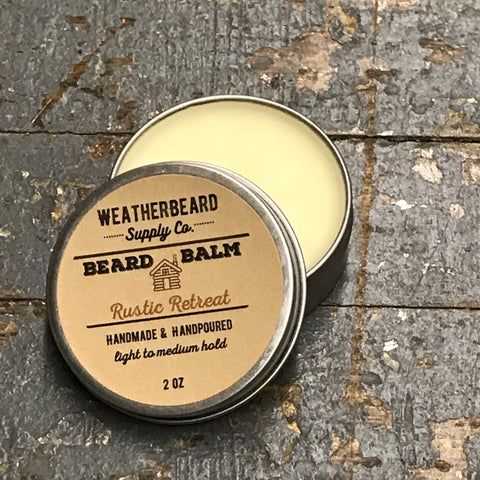Weatherbeard Beard Grooming Balm Rustic Retreat