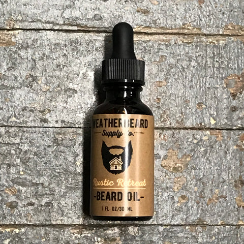 Weatherbeard Beard Grooming Oil Rustic Retreat