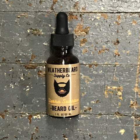 Weatherbeard Beard Grooming Oil Sierra Sunrise