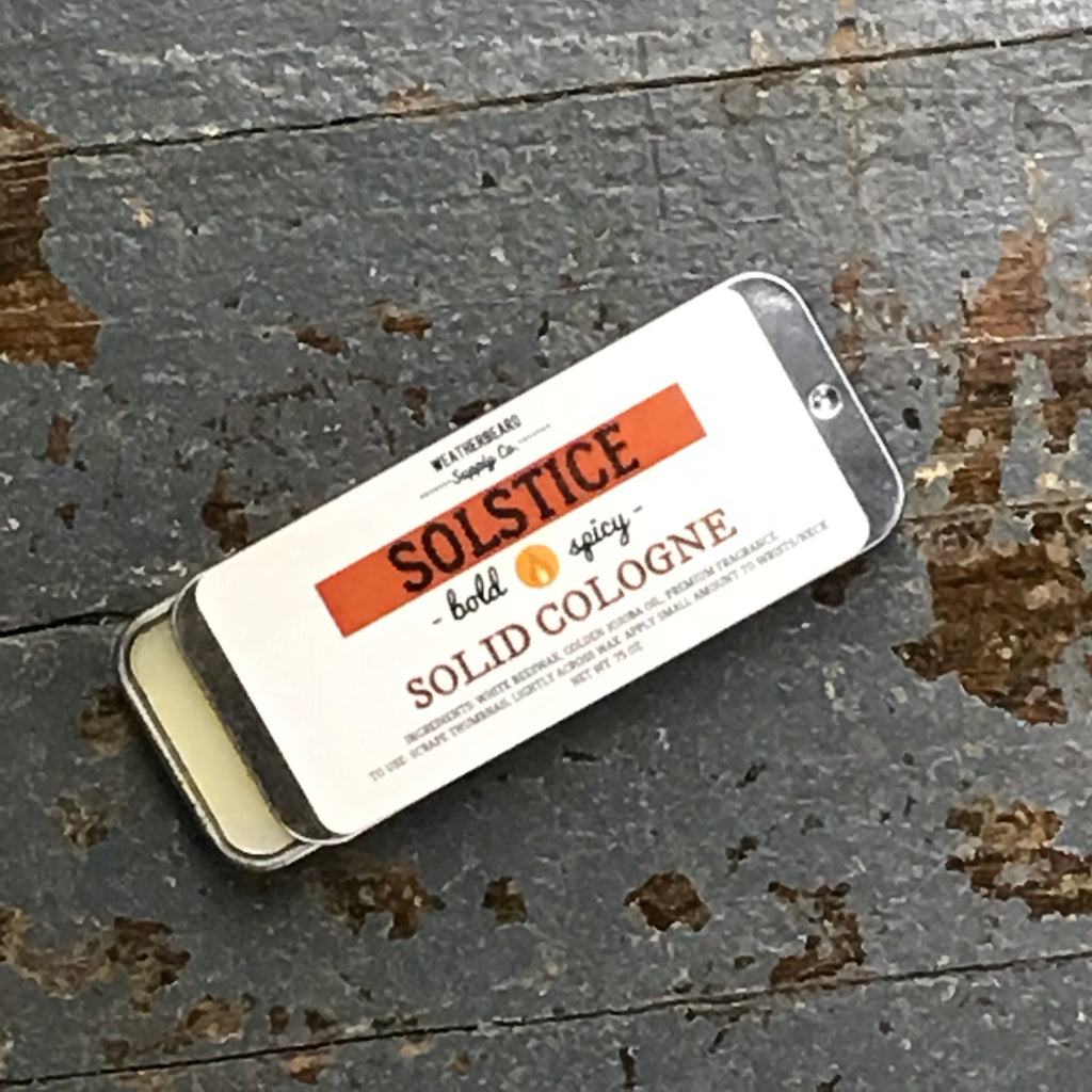 Weatherbeard Solid Cologne Solstice