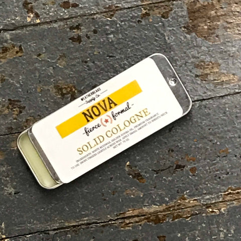 Weatherbeard Solid Cologne Nova