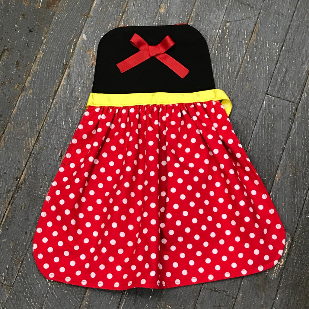 Princess Apron Disney Inspired Minnie Mouse Dress Up Apron Child Kids Toddler Girls