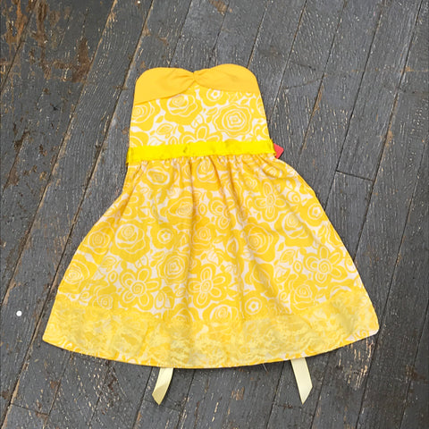 Princess Apron Disney Inspired Belle Beauty and the Beast Dress Up Apron Child Kids Toddler Girls