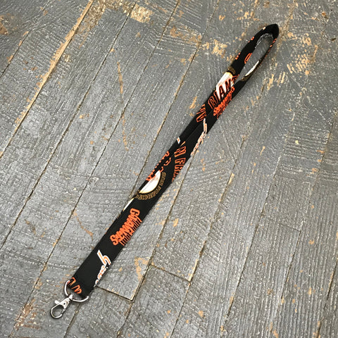 Handmade Key Chain Fob Lanyard San Francisco Giants Baseball