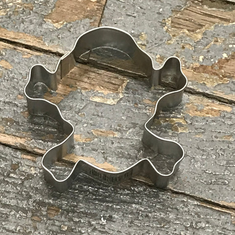 Skull Crossbones Poison Cookie Cutter