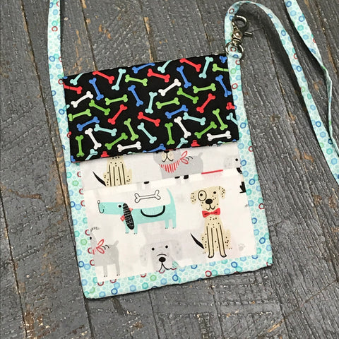 Dog Walking Pouch Crossbody Purse Pet Supply Bag