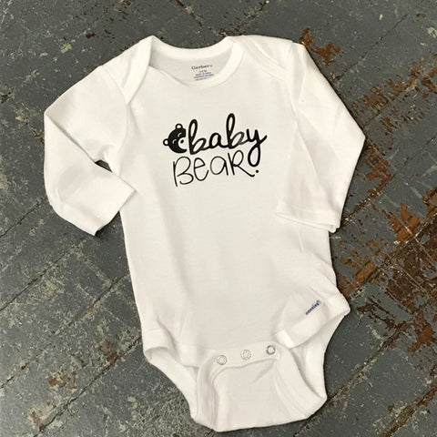 Baby Bear Personalized Onesie Bodysuit One Piece Newborn Infant Toddler Outfit