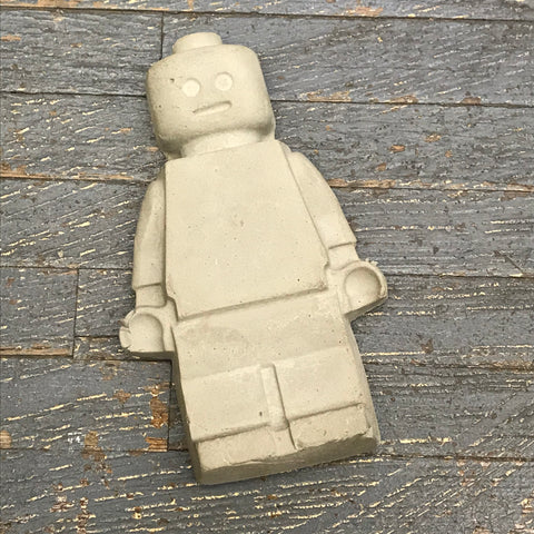 Lego Figurine Concrete Fairy Garden Lego Man Miniature Yard Art Large Statue Stepping Stone