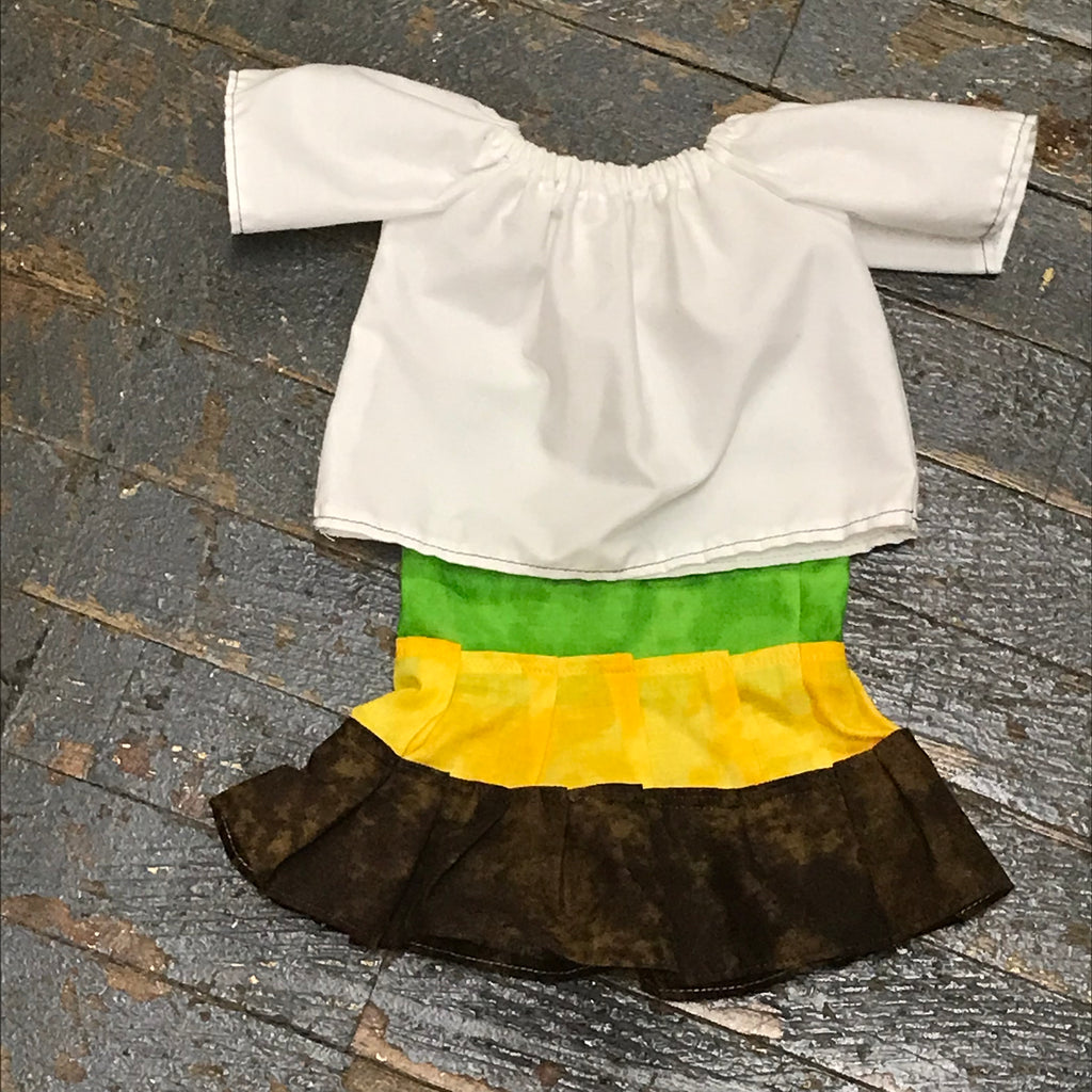 "18"" Doll Clothes Outfit Salsa Skirt and Shirt Top"