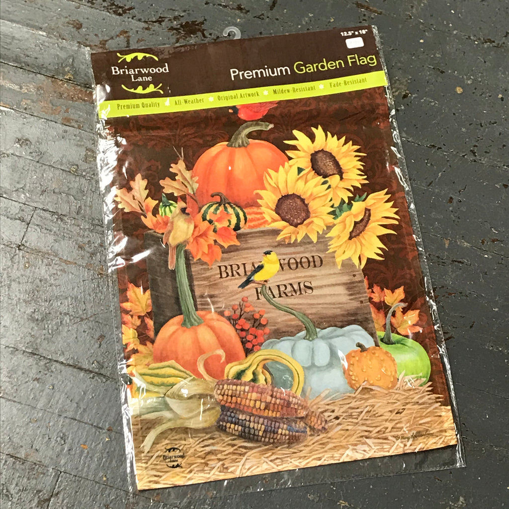 Autumn Harvest Garden Flag