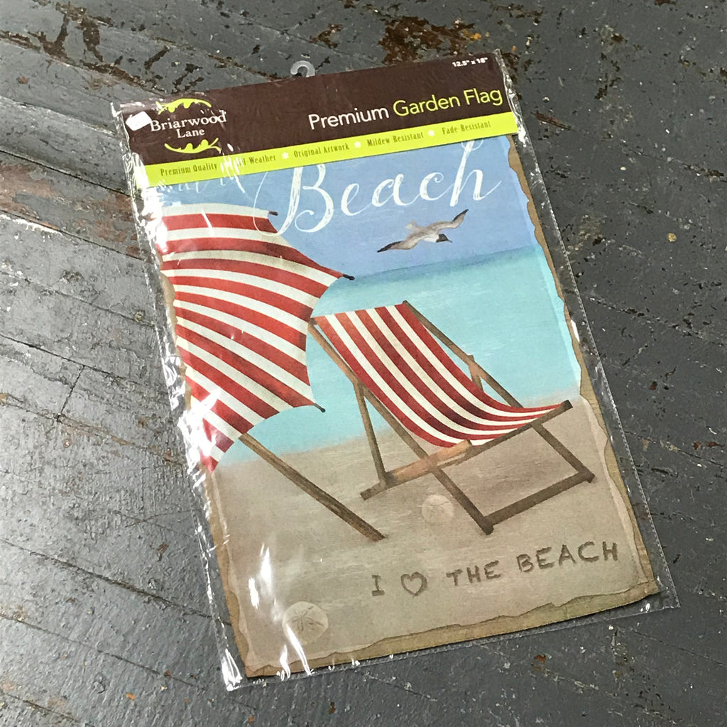 At the Beach Garden Flag