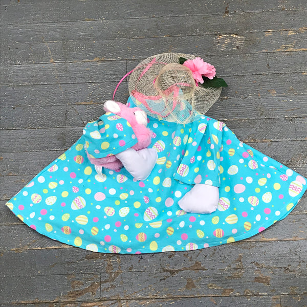 Goose Clothes Complete Holiday Goose Outfit Pastel Easter Egg Bunny Rabbit Dress and Hat Costume