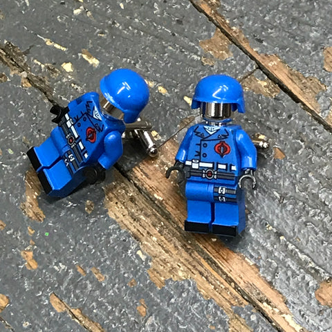 GI Joe Cobra Commander Comic Lego Figurine Cuff Links Wedding Groom Suit Tux