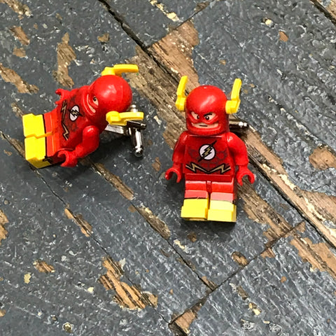 Flash DC Comic Lego Figurine Cuff Links Wedding Groom Suit Tux