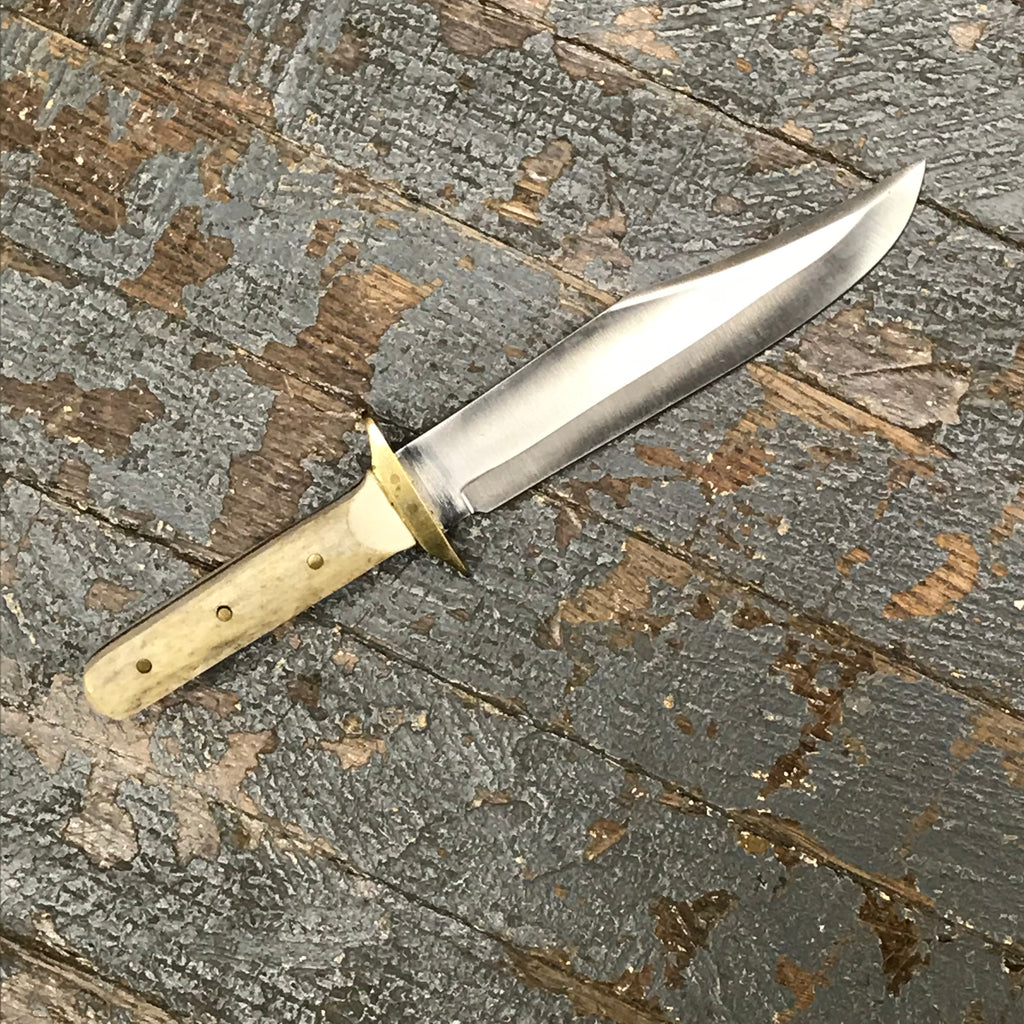 Custom Handmade Whitetail Deer Antler Handle Stag Knife Blade #3