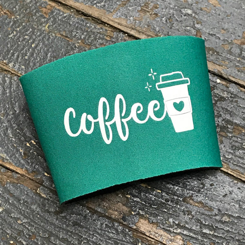 Neoprene Coffee Mug Drink Tumbler Coozie Sleeve Coffee Java