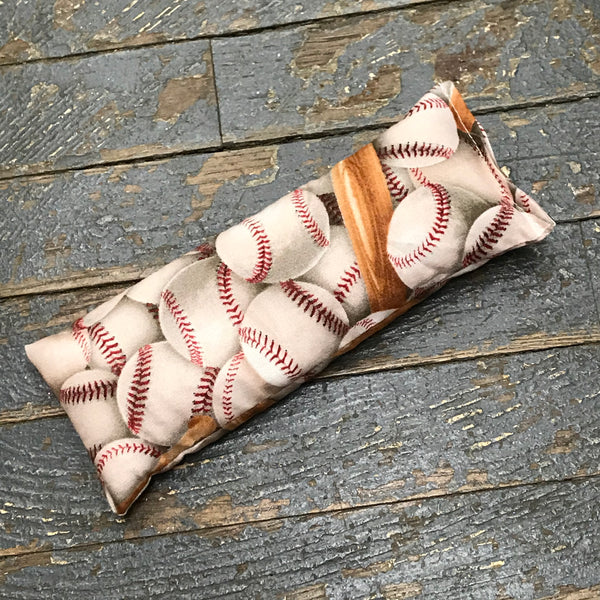 Handmade Fabric Hot Cold Therapy Compress Rice Bags Baseball