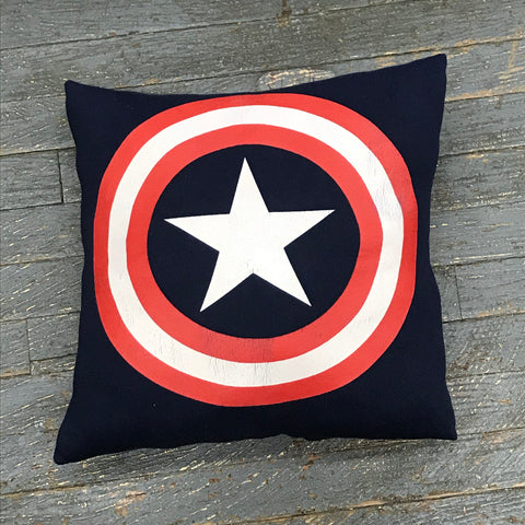Memory T-Shirt Pillow Handmade Fabric Sweatshirt Marvel Comic Captain America
