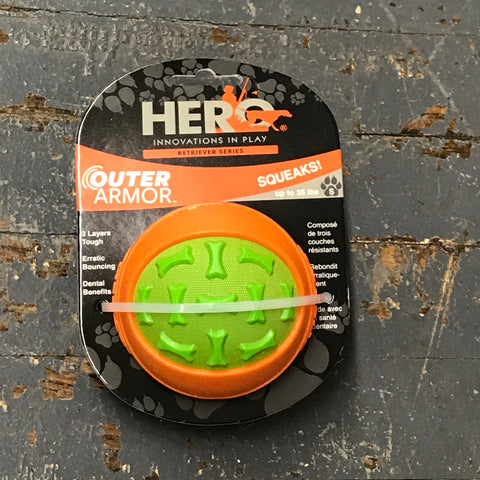 Hero Outer Armor Ball Small Pet Toy